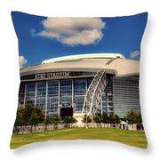 Home Of The Dallas Cowboys Throw Pillow