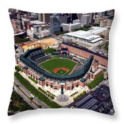 Home Of The Orioles - Camden Yards Throw Pillow