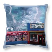 Home Of The World Champions Throw Pillow