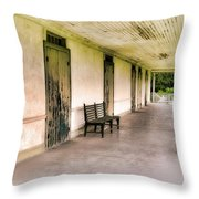 Home Place Memories Throw Pillow
