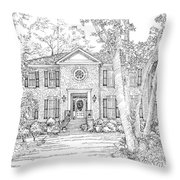 Home Portrait # Throw Pillow