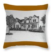 Home Portrait 472017 Throw Pillow