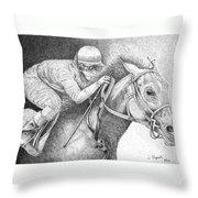 Home Stretch Throw Pillow
