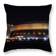 Home Sweet Dome Throw Pillow