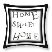 Home Sweet Home 3 Throw Pillow