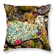 Home Sweet Home Mosaic Throw Pillow