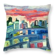 Home To The Softer Side Of City Throw Pillow