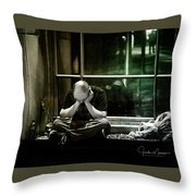 Homeless Throw Pillow