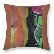 Homem - Partes Throw Pillow