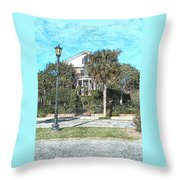 Homes Of Charleston  Throw Pillow