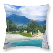 Homesick For Hawaii Throw Pillow