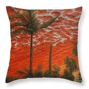 Homestead Sunset Throw Pillow