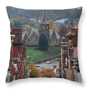 My Hometown Cumberland, Maryland Throw Pillow