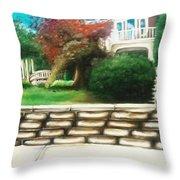 Hometown Garden Throw Pillow