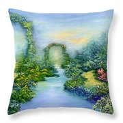 Homeward Journey Throw Pillow