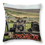 Homewreckr Throw Pillow