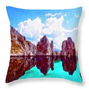 Honah Lee Throw Pillow