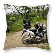 Honda Throw Pillow