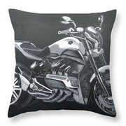 Honda Concept Evo 6 Throw Pillow