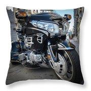 Honda Motorbike Throw Pillow