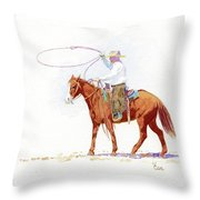 Honed In Throw Pillow