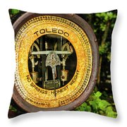 Honest Weight Throw Pillow