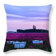 Honey In The Making Throw Pillow