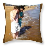 Honey You Need Some Sun Throw Pillow