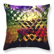 Honeycombe Holiday Throw Pillow