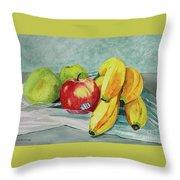 Honeycrisp Throw Pillow