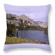 Honeymoon Lake Throw Pillow