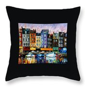 Honfleur - Normandie Throw Pillow