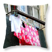 Hong Kong Apartment 13 Throw Pillow