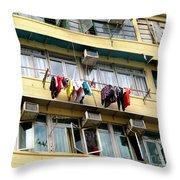 Hong Kong Apartment 7 Throw Pillow