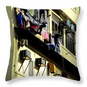 Hong Kong Apartment 8 Throw Pillow