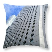 Hong Kong Architecture 38 Throw Pillow