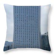 Hong Kong Architecture 41 Throw Pillow