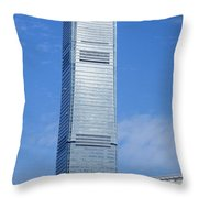Hong Kong Architecture 45 Throw Pillow