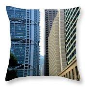 Hong Kong Architecture 49 Throw Pillow