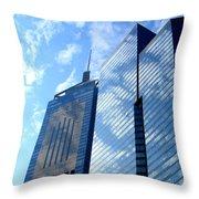 Hong Kong Architecture 58 Throw Pillow