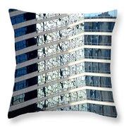 Hong Kong Architecture 64 Throw Pillow