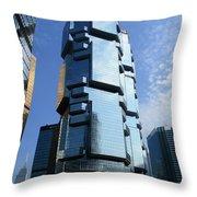 Hong Kong Architecture 73 Throw Pillow