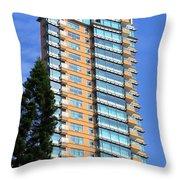Hong Kong Architecture 77 Throw Pillow