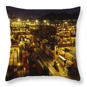 Hong Kong Container Terminal, One Throw Pillow
