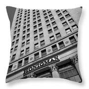 Honigman Fashion - Downtown Detroit Throw Pillow