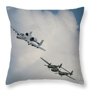 Honor Flight Throw Pillow
