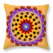 Honor The Bees Throw Pillow