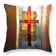 Honoring Mother Father God Throw Pillow