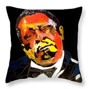 Honoring The King 1925-2015 Throw Pillow