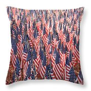 Honoring Those Who Have Sacrificied All Throw Pillow